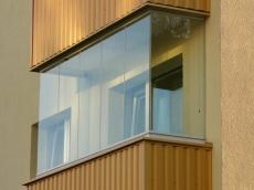 Застекление балконов